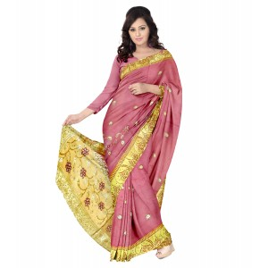 Abaranji Work Saree
