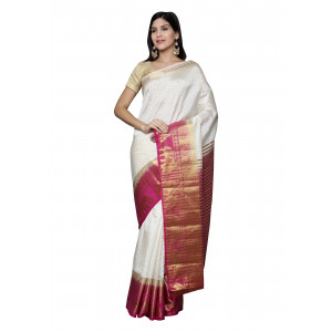Jute Art Saree