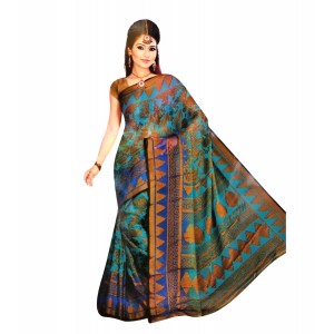 Synthetic Chiffon Saree