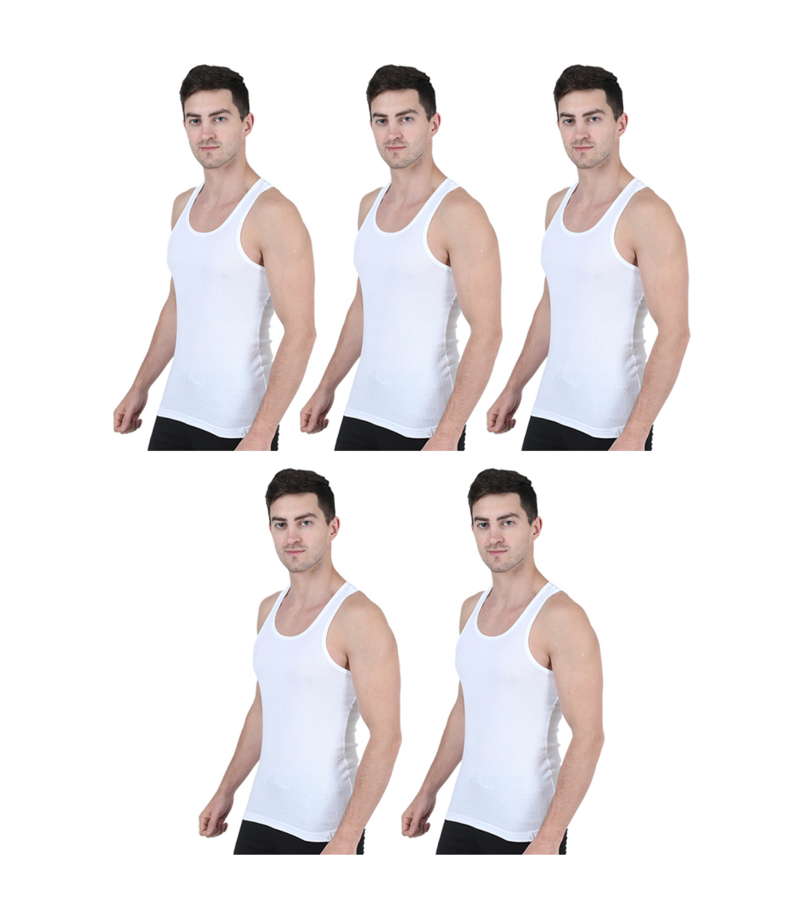 Woodsvally Integra men's vest 5 pack combo